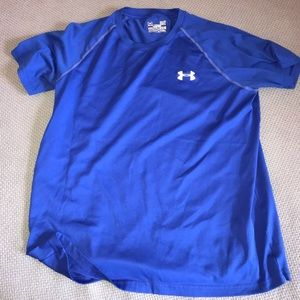BLUE UNDER ARMOUR M ATHLETIC TEE